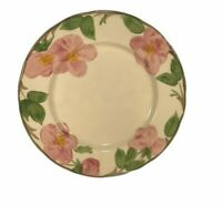 """FRANCISCAN DESERT ROSE CHINA 9 1/2"""" LUNCHEON PLATE ENGLAND"""
