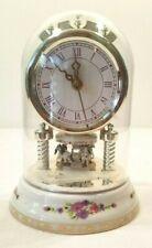 Ceramic Carousal Nursery Clock       NOS