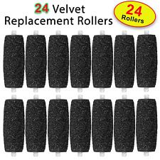24 X Extra Coarse Replacement Refill Rollers for Scholl Velvet Smooth Express