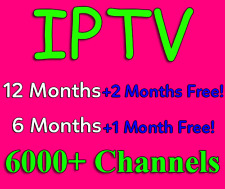 IPTV +6000 Channels 3 Months (Android, Smart TV, MAG, iOS, Enigma2, PC)