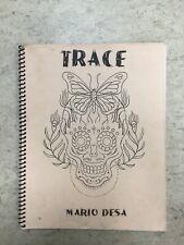 Mario Desa TRACE Tattoo Flash Book Classic Americana Tattoo