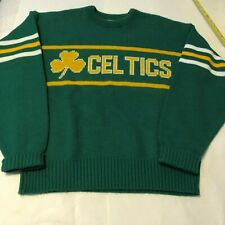Vintage Boston Celtics Cliff Engle Men's sweater Medium Wool Blend preowned