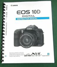 Canon EOS 10D Instruction Manual: 183 Pages & Protective Covers