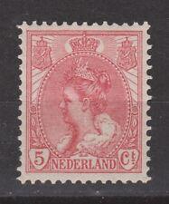 NVPH Netherlands Nederland 60 MLH Wilhelmina bontkraag 1899-1921 Pays Bas