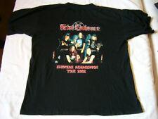 FATAL EMBRACE – ORIGINAL 2002 European tour t-shirt!!! German Unholy Trash