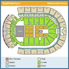 Columbus OH Nationwide Arena Concert Tickets