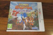 SONIC BOOM  LE CRISTAL BRISE   --- JEU NEUF POUR 3DS