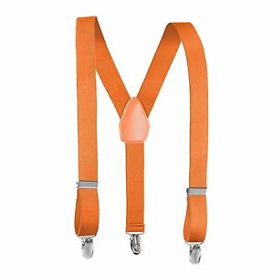 Rob Riverdale Kids and Baby Adjustable Elastic Solid Colors Children Suspenders