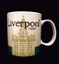 Starbucks Liverpool Mug Royal Liver Building Mersey Ferry Coffee Cup New England