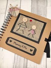 MUMMY & ME Scrapbook | Gift for MUM | FREE Shipping within the UK