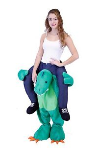 Choose Adult Plus Size Funny Halloween Animal Lift me Walking Carrying Costume
