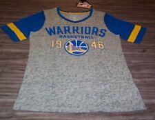 WOMEN'S TEEN JRS GOLDEN STATE WARRIORS NBA BASKETBALL T-shirt LARGE NEW w/ TAG