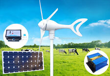 Phoenix 550 W 12 V DC Wind Turbine Generator+Charge Controller+100 W Solar Panel