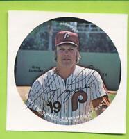 1978 Sports Photo Assoc Pin Proof Square Greg Luzinski (#18)   Phillies