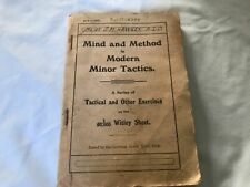 """Australia Important Military Author&Soldier Book,""""Mind And Method Modern Tactics"""