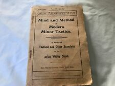"""New listing Australia Important Military Author&Soldier Book,""""Mind And Method Modern Tactics"""