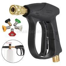Car Motocycle 200BAR/3000PSI High Pressure Washer Wash Water Gun W/ 5 Nozzles