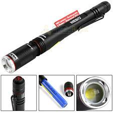 Nebo Rechargeable Pen Light Flashlight 360 Lumen Inspector RC Waterproof 4x Zoom