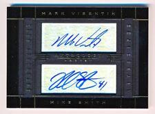 2014-15 Panini Anthology Mark Visentin Mike Smith Dual Autograph Auto (022/213)