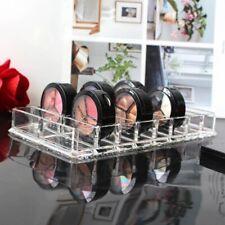 Ideal Clear Compact Cosmetics Organizer 16-Slot Powder Palette Eyeshadow Holder
