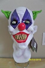 ADULT GIGGLES THE CLOWN CREEPY SCARY EVIL FULL LATEX MASK COSTUME TB26447