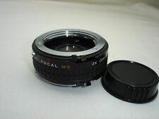 FOCAL MC 2x converter lens for Minolta MD mount cameras, Model 20-06-76 MI