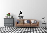 Resistance Is Futile Star Trek Inspired Design Wall Art Decal Vinyl Sticker