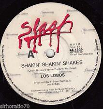 LOS LOBOS Shakin' Shakin' Shakes / Tears Of God 45