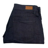 Sportscraft Simone Dark Blue Straight Leg Denim Jeans Size 10