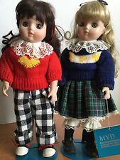 Porcelain Dolls Myd Marian Yu Designs Best Friends Hierloom Hand Painted Collect