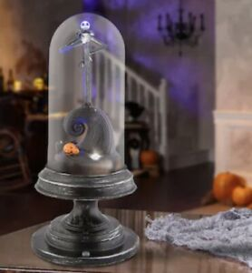 NEW Disney Jack Skellington Animated Musical Tabletop Halloween Decoration