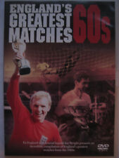 England's Greatest Ever Matches - The 60s (DVD, 2006) NEW SEALED PAL Region 2