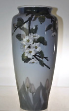 "MASSIVE Royal Copenhagen Dogwood Vase 17"" Stunning, Rare, Unusual"