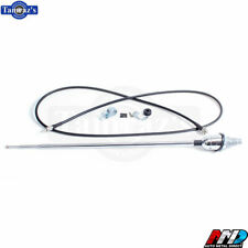 64-66 C/K Series Pickup Truck Chrome Telescopic Antenna Kit Cable with Hardware