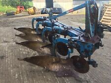 More details for fr ronsomes 4 furrow convential plough turnover hydraulic tractor disc☎️07870221