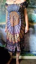 GYPSY DRESS FUNKY HIPPY BEACH FESTIVAL HOLIDAY BOHO SD46