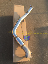 """SRS SR*S BELLMOUTH DOWN PIPE DOWNPIPE CATTED  FOR SUBARU WRX/STI 4"""" T304 DP 2002"""