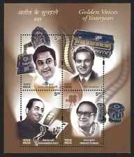India 2003 Golden Voices MS miniature sheet MNH