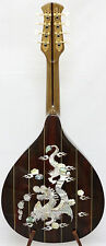 Arch back Mandolin, Solid spruce top rosewood, dragon MOP inlay, NFMIA37