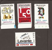 Spain 2006. short set (MNH) Newspapers.