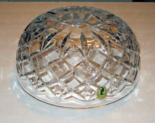 waterford CROSSWICKS LAMP crystal SHADE / GLOBE / Part NEW  boxed  SALE
