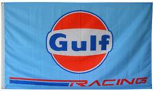 PORSCHE GULF RACING FLAG 3FT X 5FT