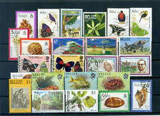 nice lot BELIZE, almost all postally used