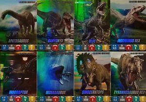 Panini Jurassic World Stickerserie (2020) - Limited Edition Cards zum aussuchen