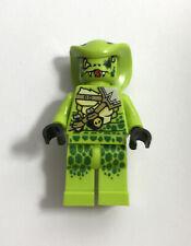 Lego Minifigure - Ninjago Legacy - Lasha - njo497 - lime green - excellent