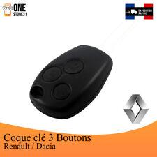 Boîtier Coque télécommande clé plip 3 boutons RENAULT Modus,Clio ,Kangoo ,Twingo