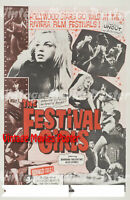 The Festival Girls Repro Reproduction Print USA Poster