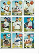 2018 Topps Heritage Baseball SP 462 Mike Napoli SP