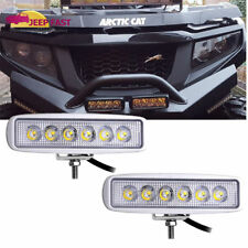 2x 7''INCH 36W SPOT LED WORK LIGHT BAR OFFROAD ATV FOG TRUCK 4WD 12V 24V