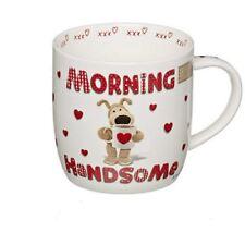 Boofle Morning Handsome China Mug Gift for BOYFRIEND Husband